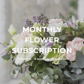 Monthly Subscription Flowers